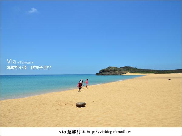 【澎湖沙灘】山水沙灘,遇到菊島的夢幻海灘!15