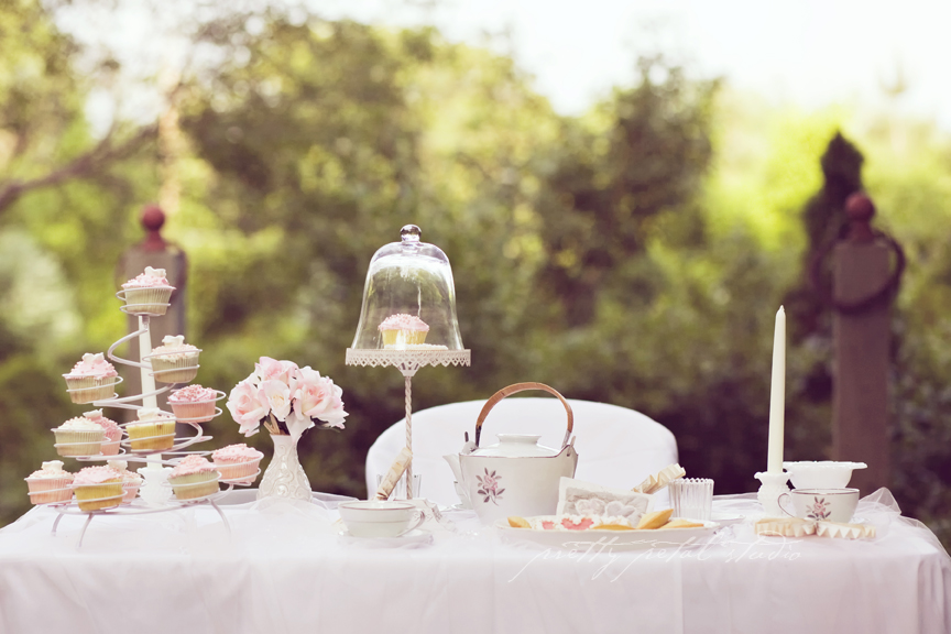 bridal tea party table