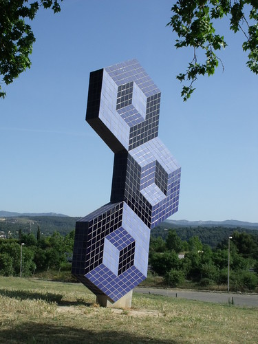 Foundation Vasarely - Aix-en-Provence - sculpture