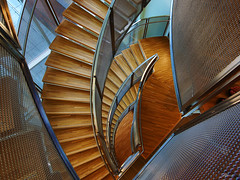 wishbone spiral (paul bica) Tags: toronto ontario canada colors st metal architecture stairs floors hospital spiral paul design wooden doors pattern open view perspective indoors health concept dex michaels wishbone bica saariysqualitypictures 20110529doorsopen070