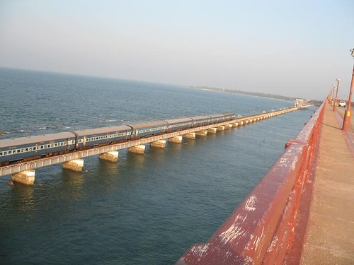 Pamban railway bridge, Rameshwaram