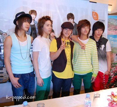 Korean Fashion Shop Malaysia on Ft Island Press Conference In Malaysia   K Popped Com