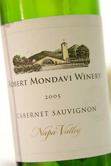 2005 Robert Mondavi Winery Napa Valley Cabernet Sauvignon