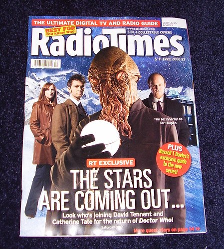 RADIO TIMES - Dr Who Cover 3