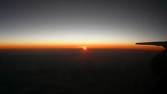 London City - Madrid sunset (Frans Zwart) Tags: madrid london landscape flying darkness aircraft wing cockpit frans zwart pilot flightdeck sunet