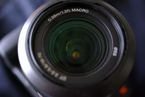 DT18-70mm F3.5-5.6 macro lens