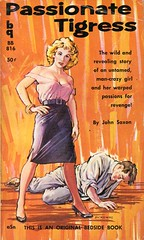 Passionate Tigress (Biff Bang Pow) Tags: vintage retro paperback pulpfiction pulp sleaze