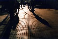 METRO LOS LEONES (vargtimmen83) Tags: santiago mañana contraluz los am metro 8 sombras brillo leones providencia