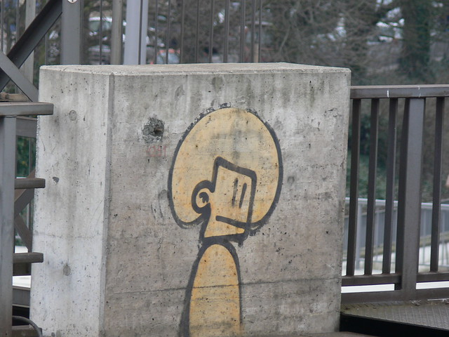 Beton Person - Graffiti