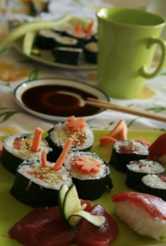 Sushi casalingo
