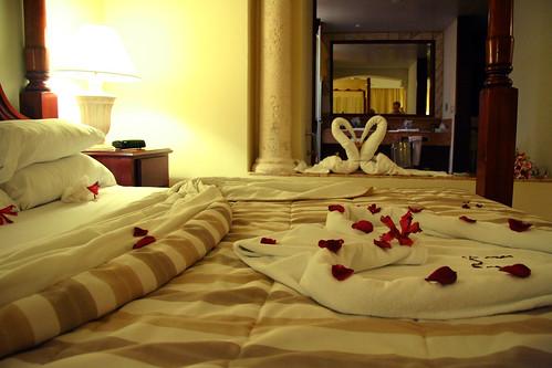 bed honeymoon wedding sex