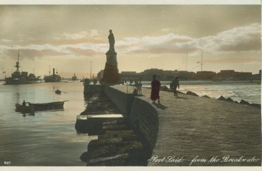 postcard of Suez