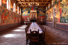 Table For _______ (Mwesigwa) Tags: ca sunlight castle canon painting table italian room royal palace row medieval historic chandelier napavalley dining banquet posh bounty luxury excess illuminate luxurious bountiful dignitary 40d