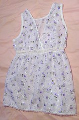 Sz 6 Slip Back (flowernicky) Tags: set children clothing dress sale recycled handmade top sewing sew skirt dora diaper jeans slip cloth diapers headbands selling onesie nightgown ecofriendly pleats refurbished clothdiaper clothdiapers hairbows embelished