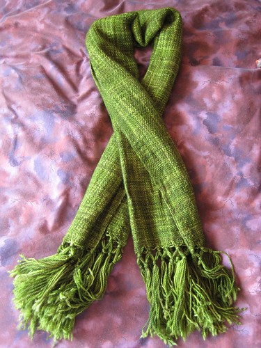 finished woven wrap/scarf