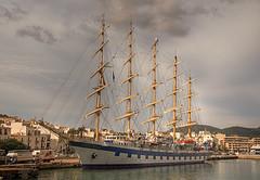 Royal Clipper-Puerto de Ibiza (dnieper) Tags: españa spain agua barco ibiza