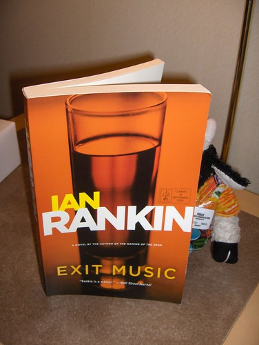Hooray! I got a copy of the new Ian Rankin galley.