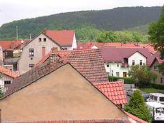 Sleepy town Kahla (:Linda:) Tags: auto roof car germany town hill thuringia dach dachziegel fahrzeug kahla rooftile dachschindel