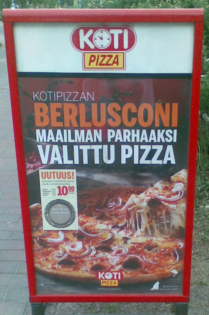 Pizza Berlusconiego