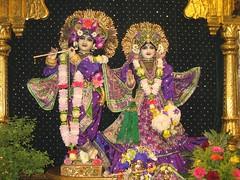 9 June 08 012 (Bhaktivedanta Manor Deities) Tags: radhakrishna