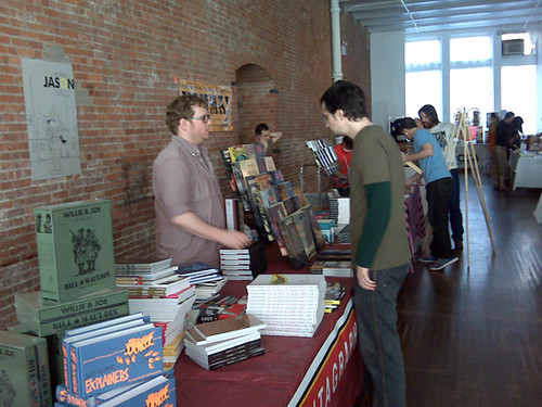 Fantagraphics at MoCCA Art Festival, 06/07/08