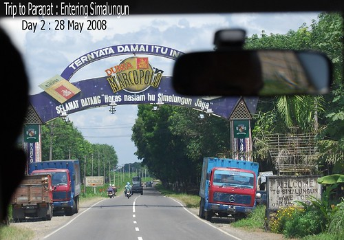 Trip to Parapat : Entering the Simalunggun District