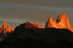 Cerro Torre & Mount Fitzroy at sunrise