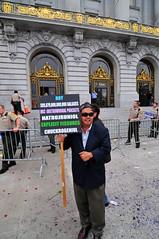 Frank Chu makes an appearance (Dave Schumaker) Tags: sanfrancisco california frankchu gaymarriage wacko sfist