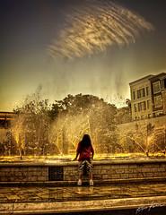 symphony (Kris Kros) Tags: ca wet water fountain girl photography fly kid high bravo child dynamic glendale americana bec brand range symphony hdr kkg kriskros kk2k flywater kkgallery