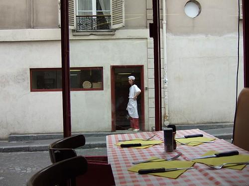 Observant Parisian Baker