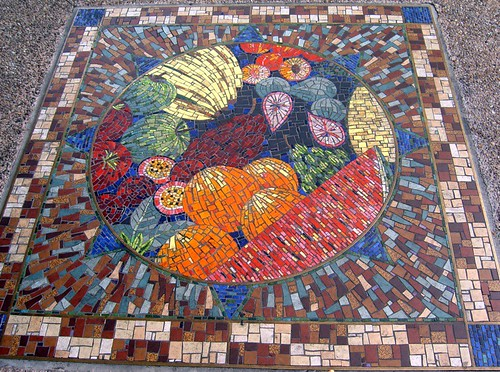 Fruit Bowl Mosaic