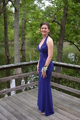 Megan (Tammie King IMGSC) Tags: woman bluedress bluegown