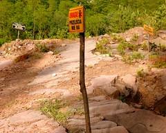 stop!!! (stempel*) Tags: signs face sign danger geotagged ma sandstone no poland polska trespass brak quarry entry polonia nie przodek swietokrzyskie hollycross zatrzymany geo:lat=50969022 geo:lon=20576706 przejscia niebezpieczenstwo
