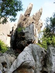 Stone Forest   (MelindaChan ^..^) Tags: china park stone natural chinese mel melinda kunming yunan stoneforest    chanmelmel melindachan