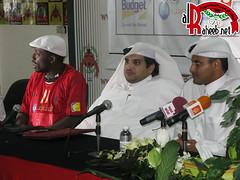 Diane singed to Al-Rayyan club (A L R a h e e b . N e t) Tags: qatar  rayyan  alrayyan     rayyani alraheeb