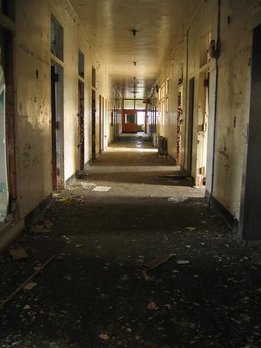 3rd floor infirmary hallway