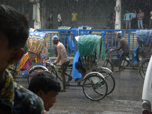 Dhaka in the Rain
