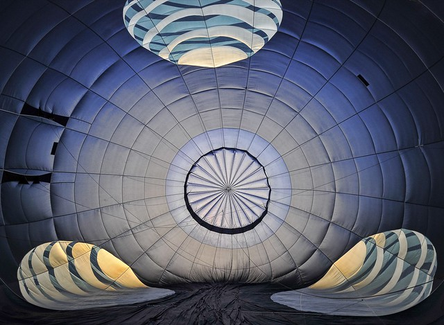 Inside The AT&T Balloon