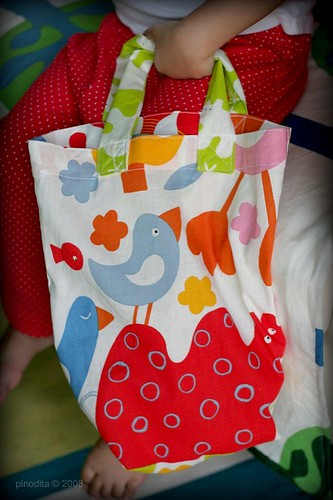 Mommy Creates : Lil' tote bag