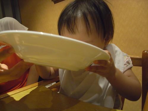 你拍攝的 14豪邁喝湯法。