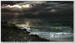 Stormy day -  Kuwait (khalid almasoud) Tags: winter sea sky beach club clouds work dark season day photographer darkness group stormy center 2006 science april kuwait  khalid dense voluntary covering distinctive darknees  almasoud anawesomeshot