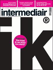 cover design Intermediair magazine (jaap!) Tags: magazine design graphic cover covers jaap biemans
