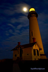 Pigeon Point Lighthouse under a Full Moon (Darvin Atkeson) Tags: ocean california desktop wallpaper portrait usa moon lighthouse color beach nature america point coast us high lighthouses pacific pigeon full fullmoon midnight beaches resolution  pigeonpoint californiacoast  pigeonpointlighthouse   darvin  outdoorphotography  atkeson californiaphotography outdoorphotographer  darv californiaphotographer   liquidmoonlightcom liquidmoonlight