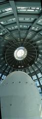 Interior de la cpula de la Torre AGBAR (xcaballe) Tags: agbar