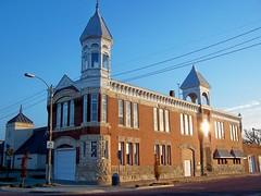 Old Kingman Town Hall - Kingman County Museum (J. Stephen Conn) Tags: county museum cityhall kansas townhall firedepartment kingman cityjail