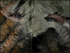 mask (Sukanto Debnath) Tags: portrait india face leaf eyes mask sony hidden f828 pupil debnath sukanto sukantodebnath