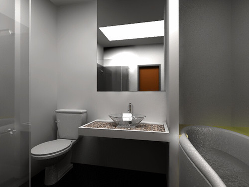 GHC-bathroom interior design by Dnw Studio