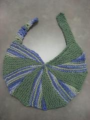 Pinwheel Bib (durandir) Tags: baby knit bibs pinwheelbibs