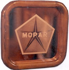 Etched Mopar Emblem (Imagination Unincorporated) Tags: etching plymouth dodge chrysler mopar etch pictureframe glassetch custompictureframe dodgeemblem