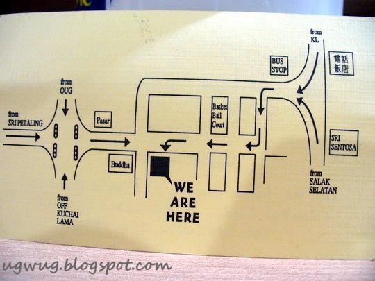 Kum Kee's Location